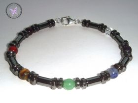 Men's Chakra Healing Bracelet
